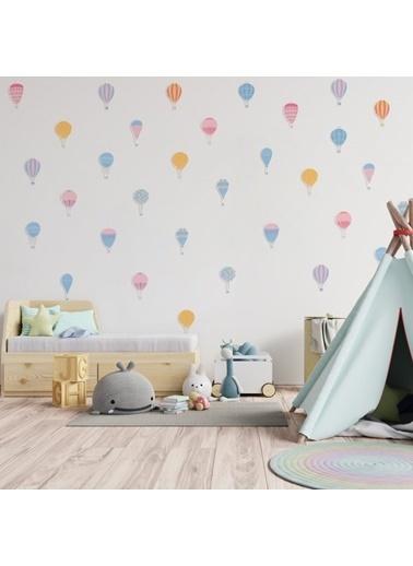 Artikel Küçük Balonlar Duvar Stickerı Renkli